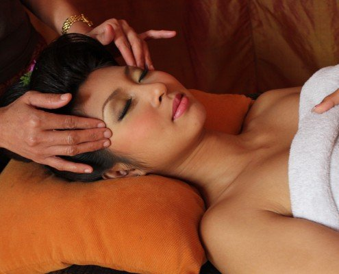 Kopf Massage